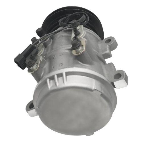 RYC Remanufactured AC Compressor and A//C Clutch EG100