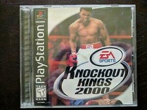 Knockout-Kings-2000-Playstation-1-PS1-Game-Used
