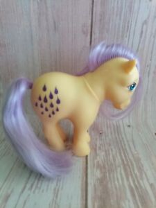 Vintage My Little Pony 1982 Lemon Drop Italy Hasbro