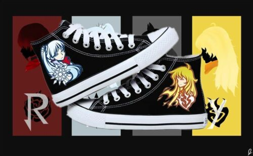 New!~ RWBY Cosplay personality Leisure High help canvas shoes free shipping AA.1