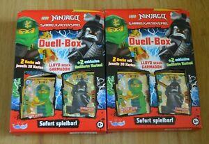 Lego-Ninjago-Serie-5-Trading-Card-2x-Duell-Deck-Box-LE9-LE19-limitierte-Auflage
