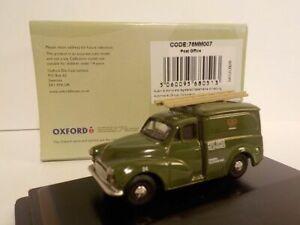 Morris Minor - Post Office, 1/76 Oxford Diecast,   New