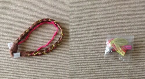 "American Girl DOTY LEA's braided headband hair band turtle bracelet 18"" doll NEW"