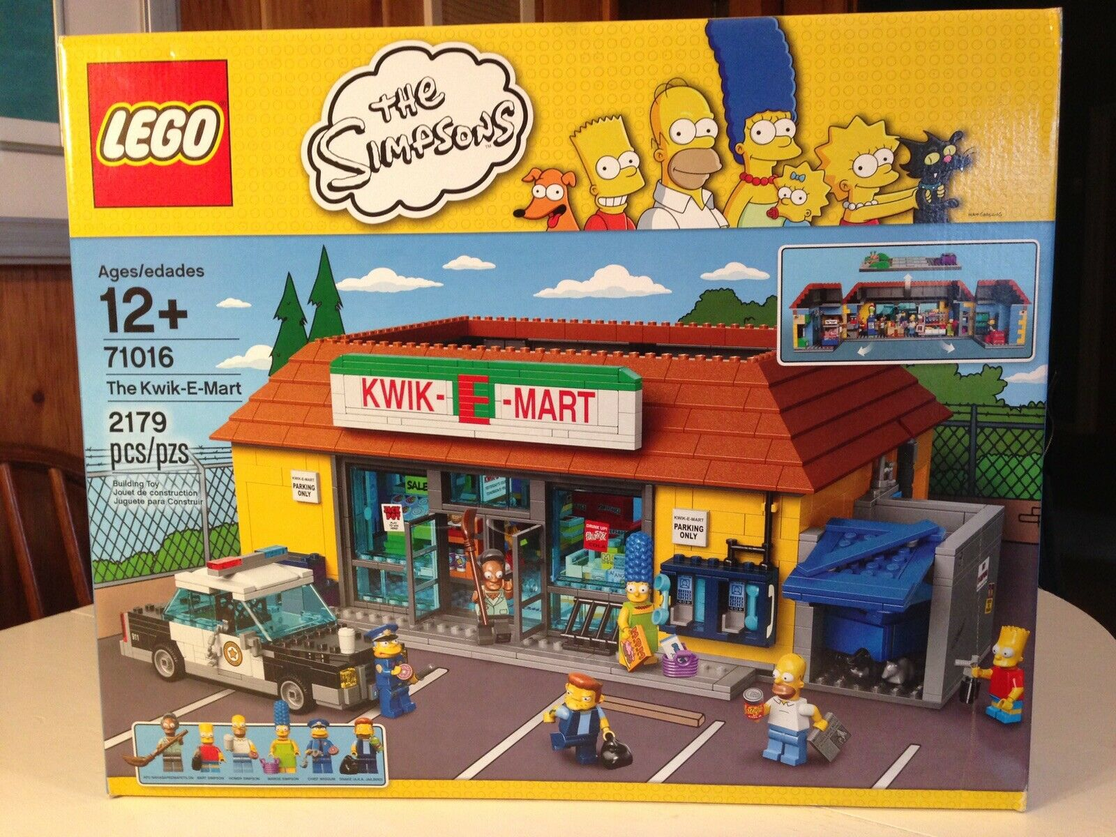 LEGO The Simpsons 71016 The Kwik-E Mart 2523 Pieces New & Sealed