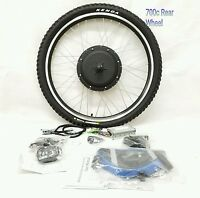 48v 1000w Electric Bike Rear Wheel Conversion Kit - Led Display Without Battery