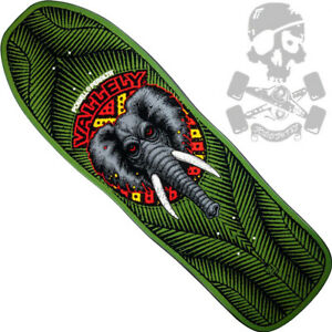 POWELL-PERALTA-Mike-Vallely-Elephant-Skateboard-Deck-Green
