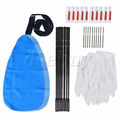 50 pcs professional flute cleaning kit set cleaning cloth for flute olayer 841870113502 ebay. Black Bedroom Furniture Sets. Home Design Ideas