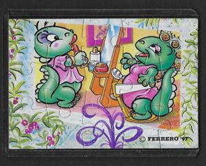 Jouet kinder puzzle 2D Dapsy Dino Family 659304 Allemagne 1997 avec étui +BPZ i3wf7M5B-08023314-885080870