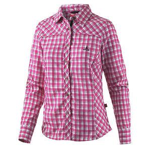 Marke-Outdoor-pflegeleicht-fast-dry-Funktionsbluse-Bluse-kariert-UV-Schutz-Gr-44