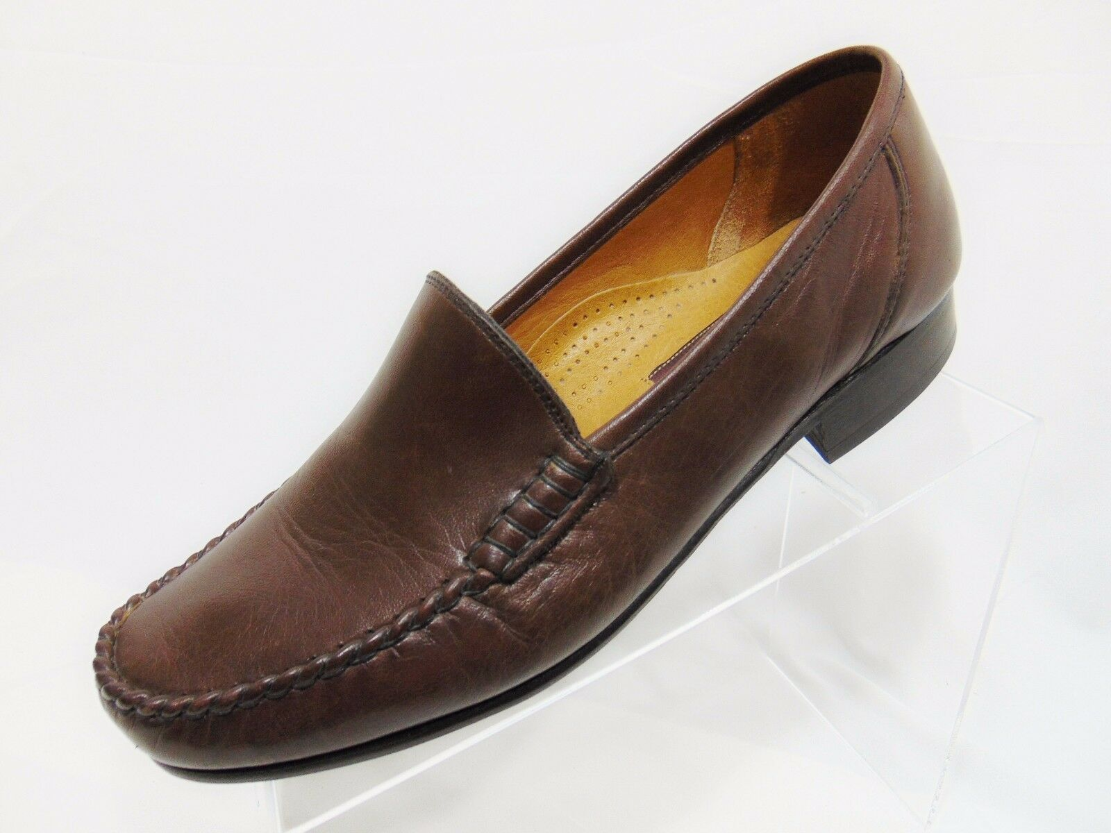 VALLEgreen Personal Comfort Men's Loafer Style shoes EUR-41.5 USA 8.5 Dark Brown