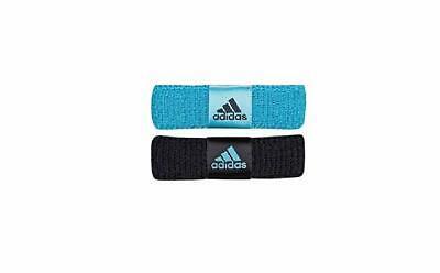 Adidas Womens Sports Wrist Sweat Bands Wristbands Fitness Sweatbands Tennis Blue Gesundheit FöRdern Und Krankheiten Heilen