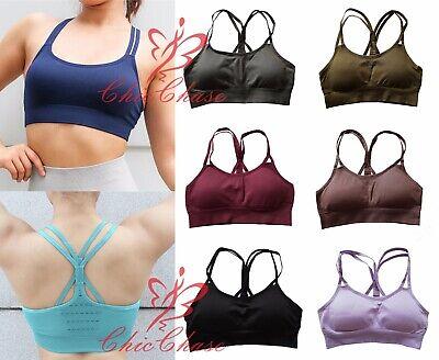 Zuversichtlich Uk Women's Energy Seamless Sports Bra Gym Top Yoga Fitness Training Activewear Lassen Sie Unsere Waren In Die Welt Gehen