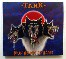 TANK Filth Hounds of Hades CD Metal Mind Digipack +8 BONUS TRACKS Heavy Metal