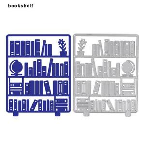 Image Is Loading Bookshelf Embossing Metal Cutting Die Stencils DIY Scrapbooking