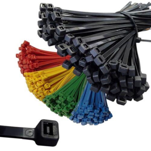 Attaches de câbles 200 mm x 2.5 mm Noir-Pack de 1000