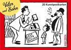 Postkartenbuch Vater und Sohn von Erich Ohser (2016, Taschenbuch)