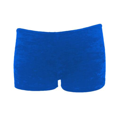 Starlite Crushed Velvet Rosco Hot Pants Dance or Gymnastics