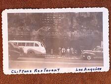 "Los Angeles CA/Van De Kamps Coffee Shop/1947 ""On the Road"" Car Window Snapshot"