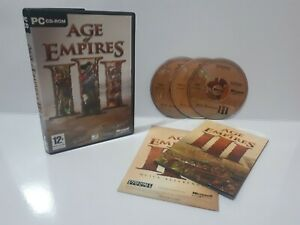 Age-of-Empires-3-III-PC-2005-Region-Free-Complete-Excellent-Condition-J2L