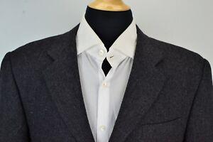 Hickey-Freeman-Canterbury-Gray-Cashmere-Blend-Sport-Coat-Jacket-Sz-42R
