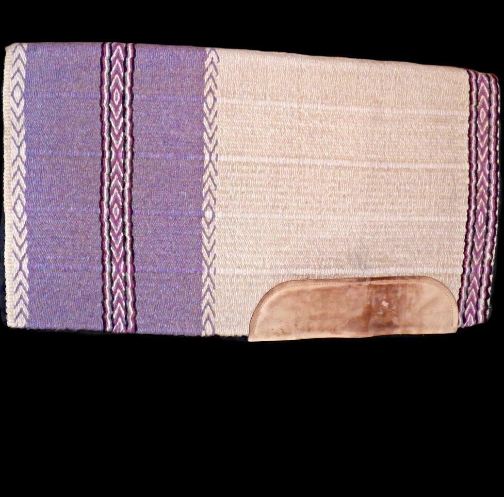 Heavy Dennis Moreland Vaquero Tachuela Manta De Lavanda Pad 100% lana, 32 X 36