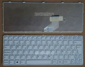 New-For-sony-VAIO-SVE11135CLP-SVE11135CLW-Keyboard-Spanish-frame-white