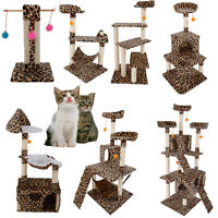 20-72 Cat Tree Tower Condo Furniture Scratching Post Pet Kitty Play House