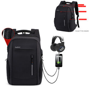 17-3-034-Waterproof-Laptop-Backpack-Computer-Anti-thieft-Bag-With-USB-Charge-Port