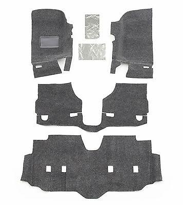 BedRug™ BRJK07F4 Front Floor Mat Kit 4pc 07-18 Jeep Wrangler JK Unlimited 4 Door