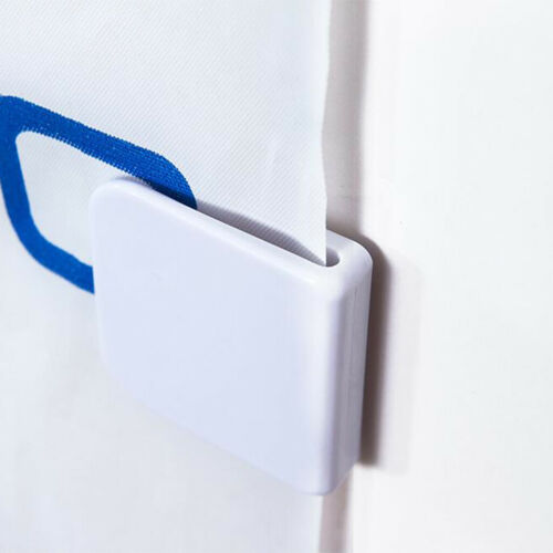 2pcs  Badezimmer Duschvorhang Befestigungsclips Anti Splash Clips