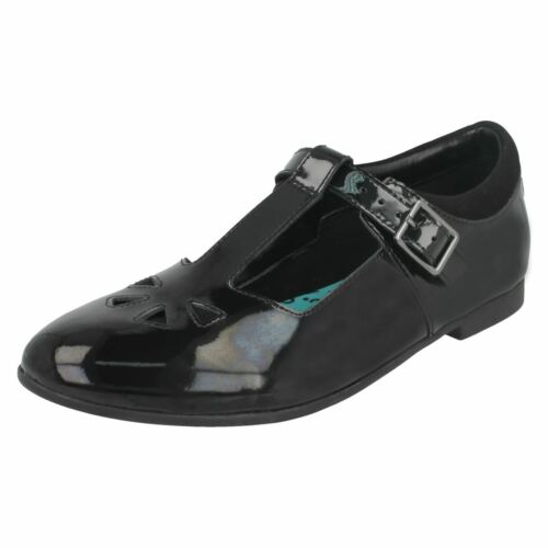 de para Jnr Selsey Play Zapatos negro Black de Clarks charol niñas color wAaXcvqx