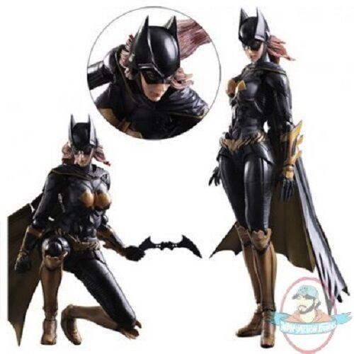 läderlappen Arkham Knight Batgirl Spela konst Kai Action Figur Square Enix