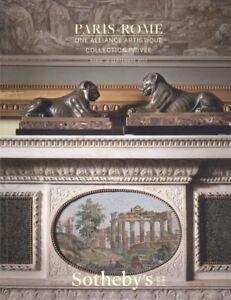 Sotheby-039-s-Catalogue-Paris-Rome-Un-Alliance-Artistique-Collection-Privee-2017-HB
