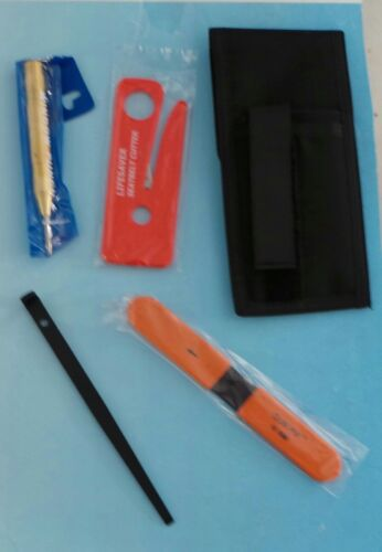 POLICE FIRE EMS EMT CAR RESCUE KIT SEAT BELT CUTTER WINDOW PUNCH HOLSTER & MORE