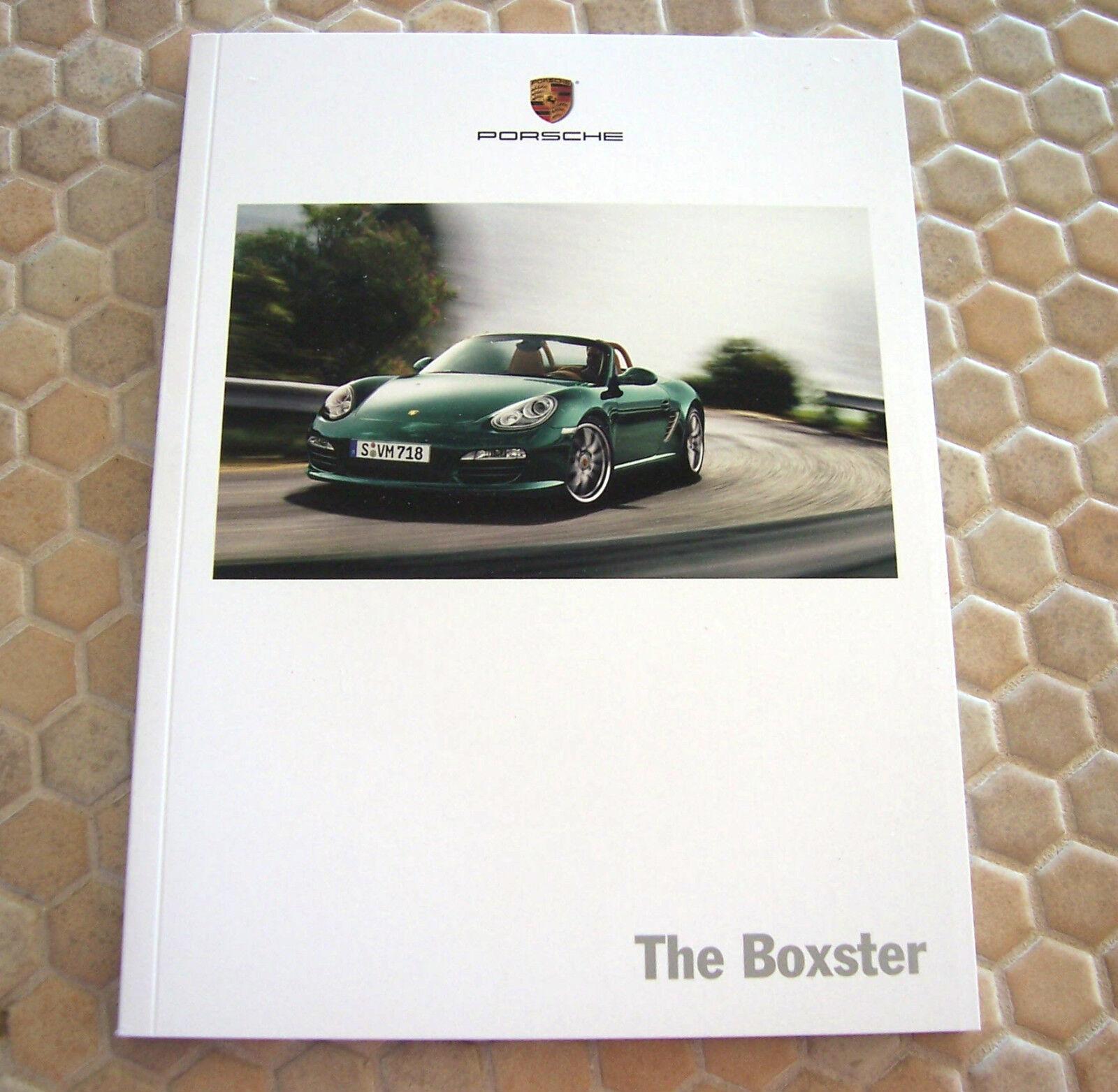 PORSCHE OFFICIAL BOXSTER /& BOXSTER S PRESTIGE SALES BROCHURE 2010 USA EDITION