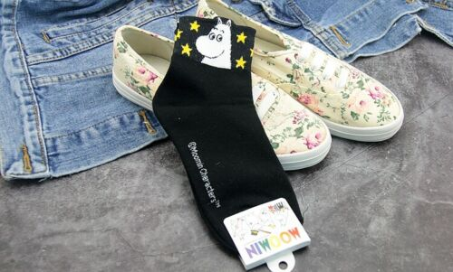 Moomin Novelty Cartoon Trainer Ankle Socks Kawaii Harajuku Size 35-40 Gift