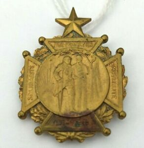 Insigne Mutualiste 1914-1918 Solidarité Aide Protection