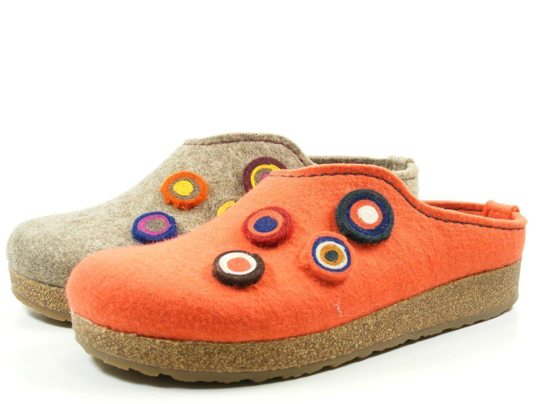 Haflinger Grizzly Grizzly Grizzly Kanon 731023-0 Zapatos señora zapatillas de casa pantuflas fieltro  bienvenido a comprar