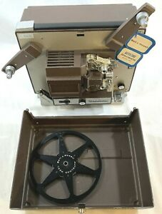 Vintage-Bell-amp-Howell-356A-Auto-Load-Super-8mm-Film-Movie-Projector-Tested
