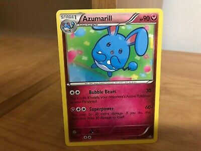 Azumarill reverse holo foil POKEMON XY PRIMAL CLASH 103//160 RARE CARD