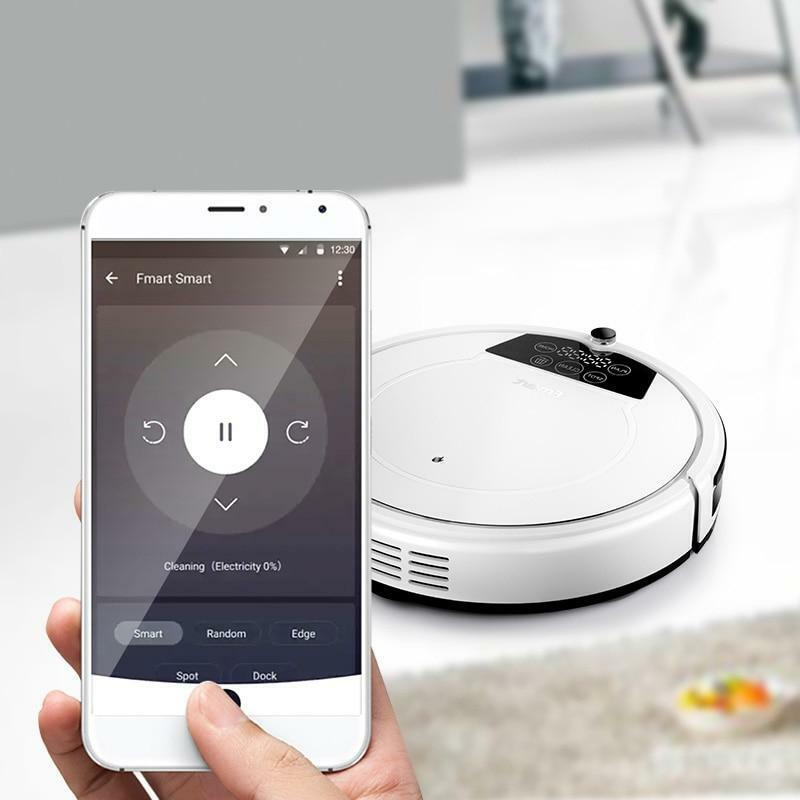 800PA - APP Control Intelligent Robot Vacuum Cleaner -  For Home Cleaning Applia