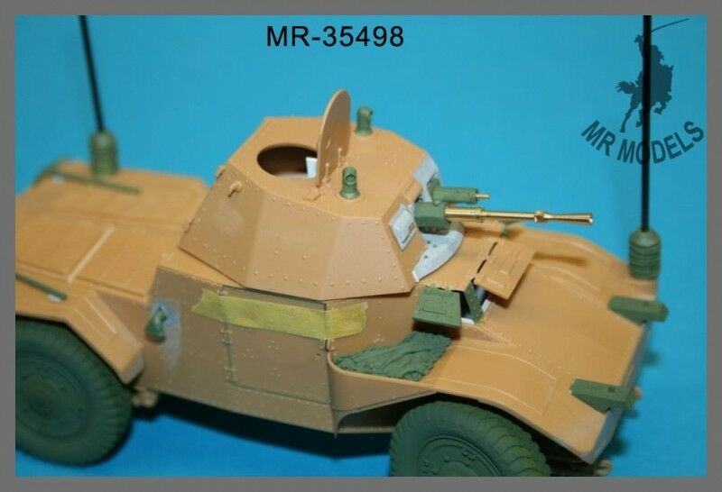 1 35th MR Models French AMD 35 Panhard 178 upgrade and gun barrel