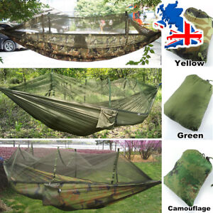 image is loading outdoor garden jungle camping tent hammock with mosquito  outdoor garden jungle camping tent hammock with mosquito        rh   ebay co uk