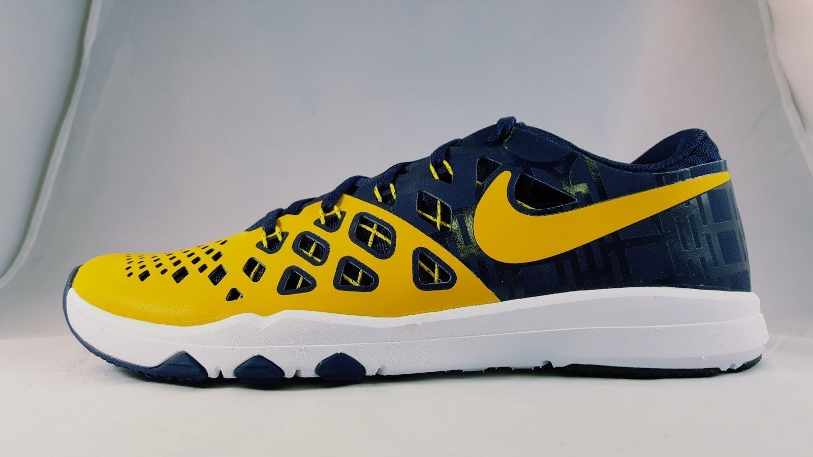 Nike Train Speed 4 AMP Michigan 844102 Wolverines Men's Training Shoes 844102 Michigan 417 Sz 9 87f766
