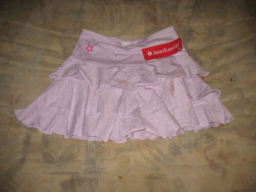 American Girl Doll RUFFLE PURPLE SKIRT SZ LARGE 14-16 NWTS Store Exclusive