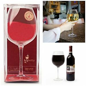 Jumbo Wine Glass Whole Bottle Giant Huge Xl Extra Large Oversized