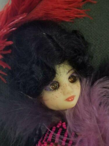 Heirloom Doll Wig size 5//6 ~ New in package ~ Monroe ~ Black~HUGE DISCOUNTS!!!