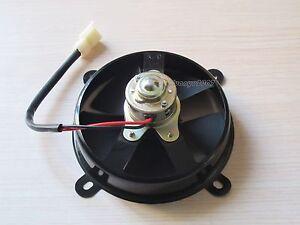 6 volt electric engine cooling fan radiator for 12 volt motor go kart