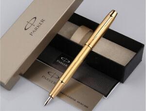 High-Quality-Parker-Classic-IM-Series-Golden-Color-0-5mm-Nib-Fountain-Pen