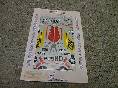 SuperScale Decals 1:48 Douglas F4D-1 Skyrays VF-23 /& VF-74 #48-817